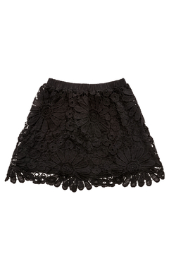 Shoptiques Product: Flower Lace Skirt