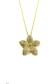 Lets Accessorize Flower Necklace - Product Mini Image