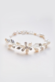 Wild Lilies Jewelry  Flower Pearl Bracelet - Product Mini Image