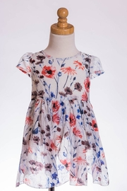 ML Kids Flower Petal Tunic - Front cropped