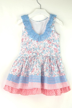 Dolce Petit Flower Polkadots Dress - Alternate List Image