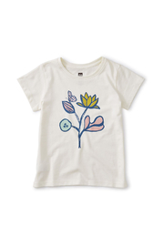Tea Collection Flower Power Graphic Tee - Product Mini Image