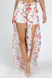 Honey Punch Flower Power Pants - Front full body