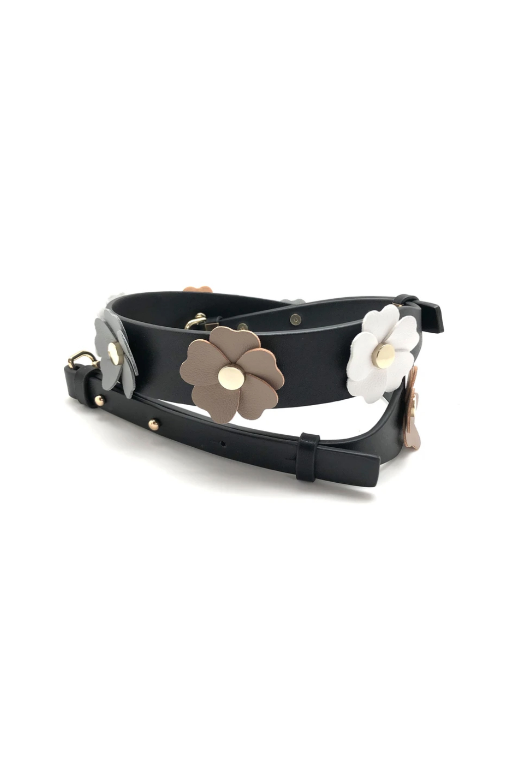 be clear handbags Flower Power Strap - Front Cropped Image