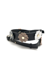 be clear handbags Flower Power Strap - Front cropped