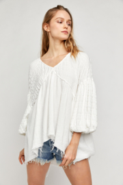 Free People  Flower Power Top - Product Mini Image