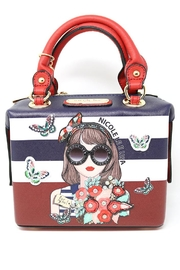 Nicole Lee Flower Print Mini-Bag - Product Mini Image