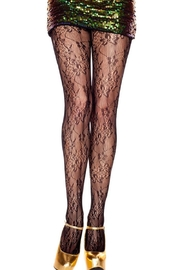 Adore Clothes & More Flower Print Tights - Product Mini Image