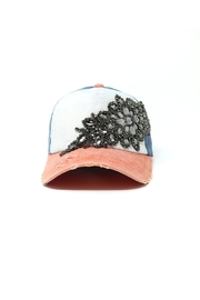 Nadya's Closet Flower Rhinestone Cap - Product Mini Image