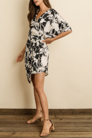 Dress Forum  Flower Shadow Surplice Dress - Product Mini Image