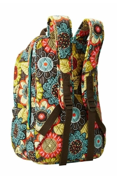 Vera Bradley Flower Shower Tech-Backpack - Alternate List Image