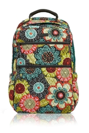 Vera Bradley Flower Shower Tech-Backpack - Front cropped