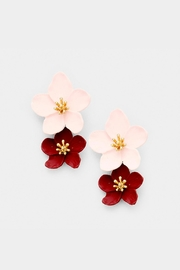 Wild Lilies Jewelry  Flower Statement Earrings - Product Mini Image