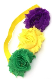 Crystal Avenue Flower Stretch Headband - Product Mini Image