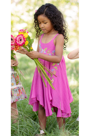 Mimi and Maggie Flower Trail Dress - Front cropped