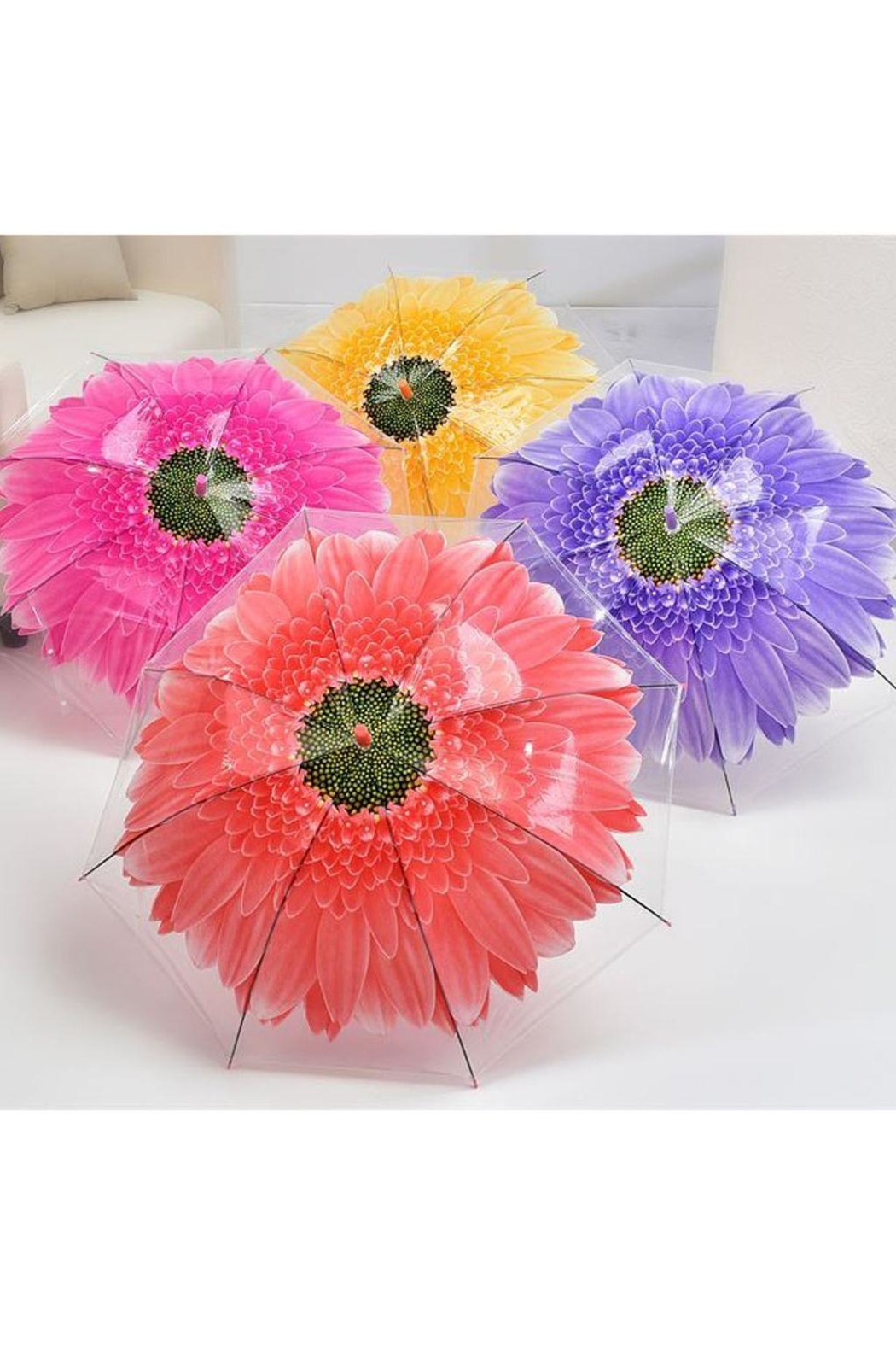 Giftcraft Inc.  Flower Umbrella - Main Image