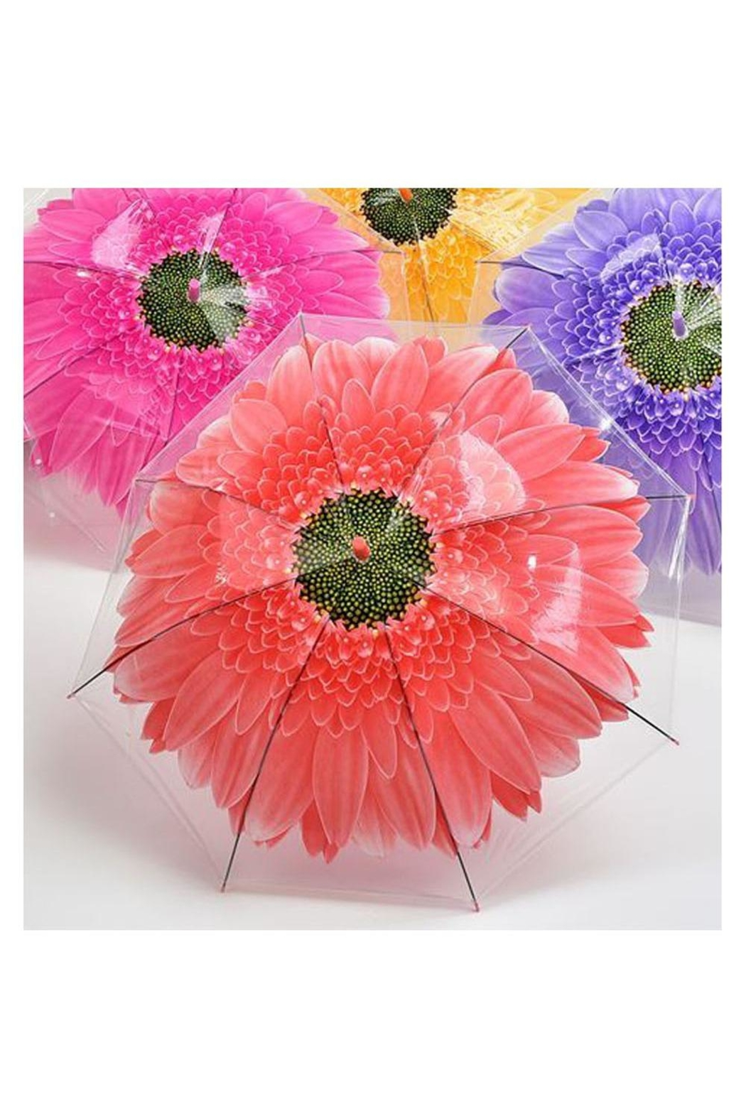 Giftcraft Inc.  Flower Umbrella - Front Cropped Image