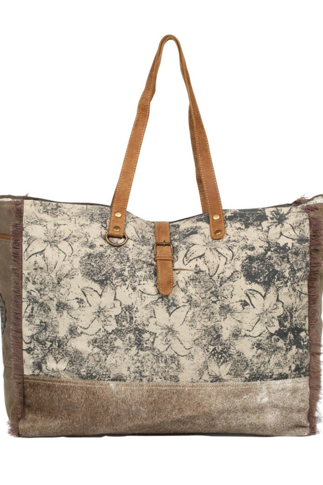 Myra Bags Floweret Weekender Bag - Main Image