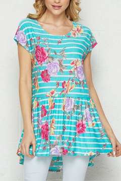 Shoptiques Product: Flowers And Stripes