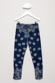 Flowers by Zoe Bandana Print Leggings - Front cropped