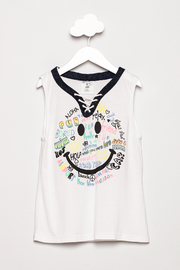Flowers by Zoe Smiley Lace Up Tank - Product Mini Image