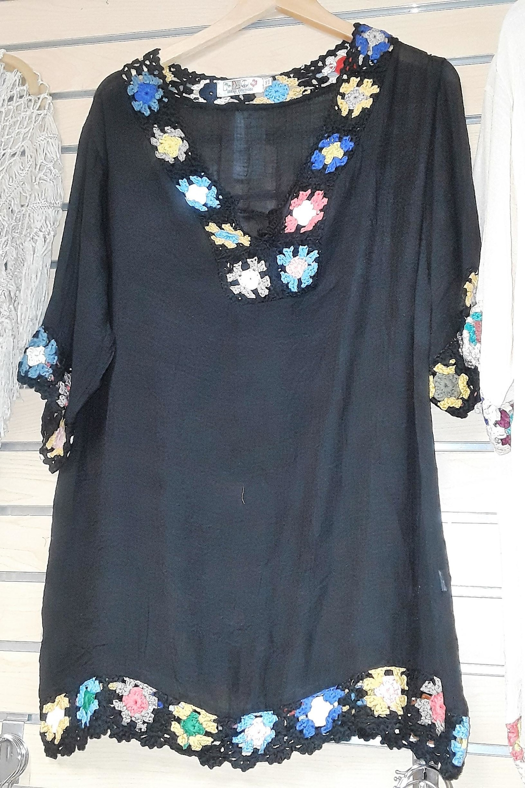 6280985701ae7 India Boutique Flowers Cover Up from Florida by Ocean Bri — Shoptiques