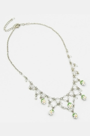 Embellish Flowers Crystal Necklace - Product Mini Image