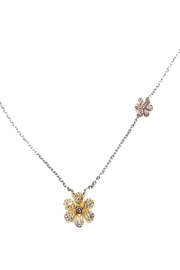 Lets Accessorize Flowers Necklace - Product Mini Image