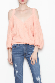 Flowers of Romance Blush Cora Top - Product Mini Image