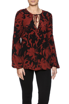 Flowers of Romance Easy Tie Blouse - Product List Image