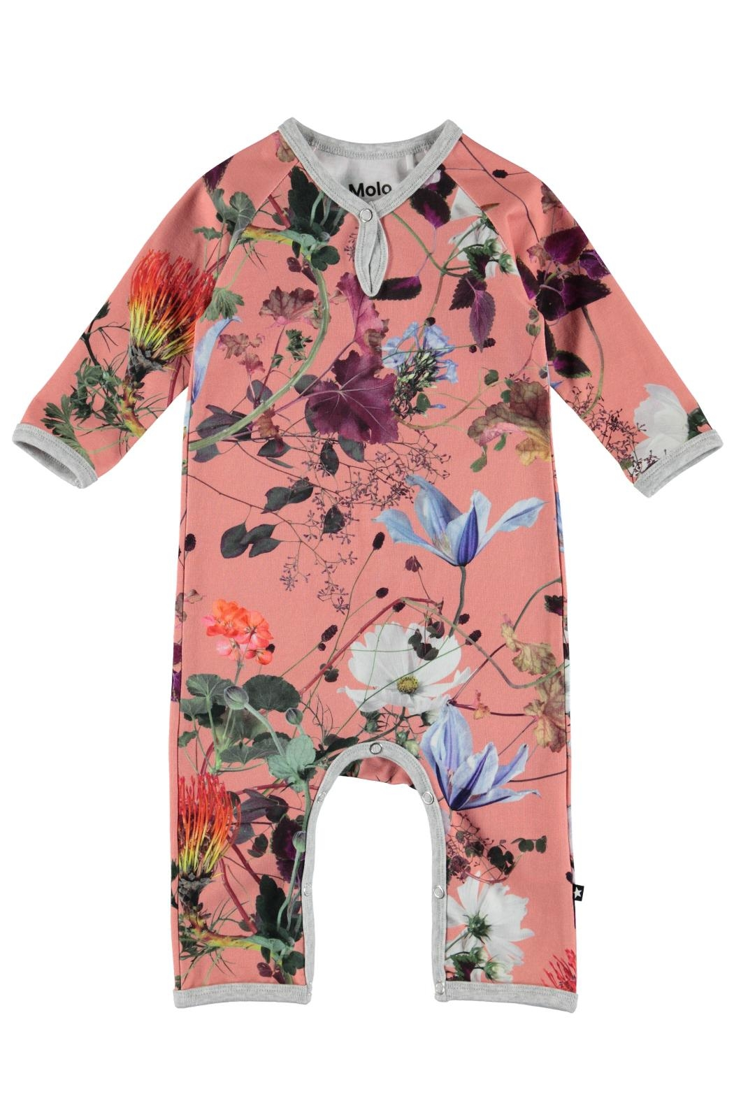 Molo Flowers Playsuit - Main Image