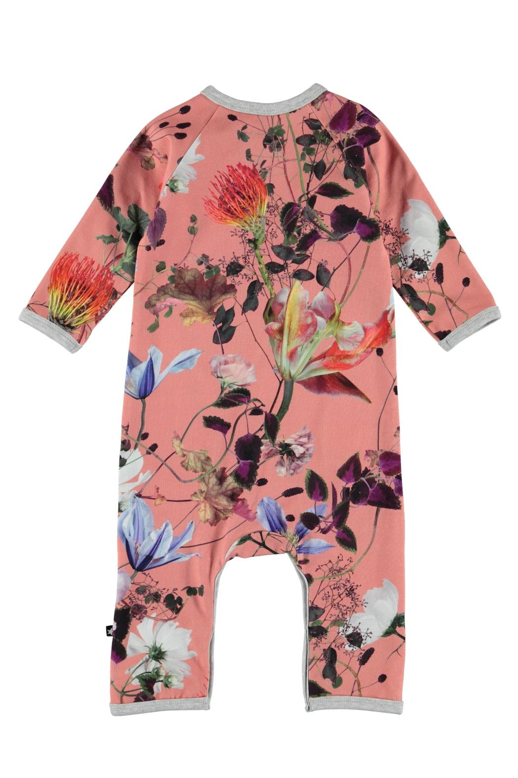 Molo Flowers Playsuit - Front Full Image