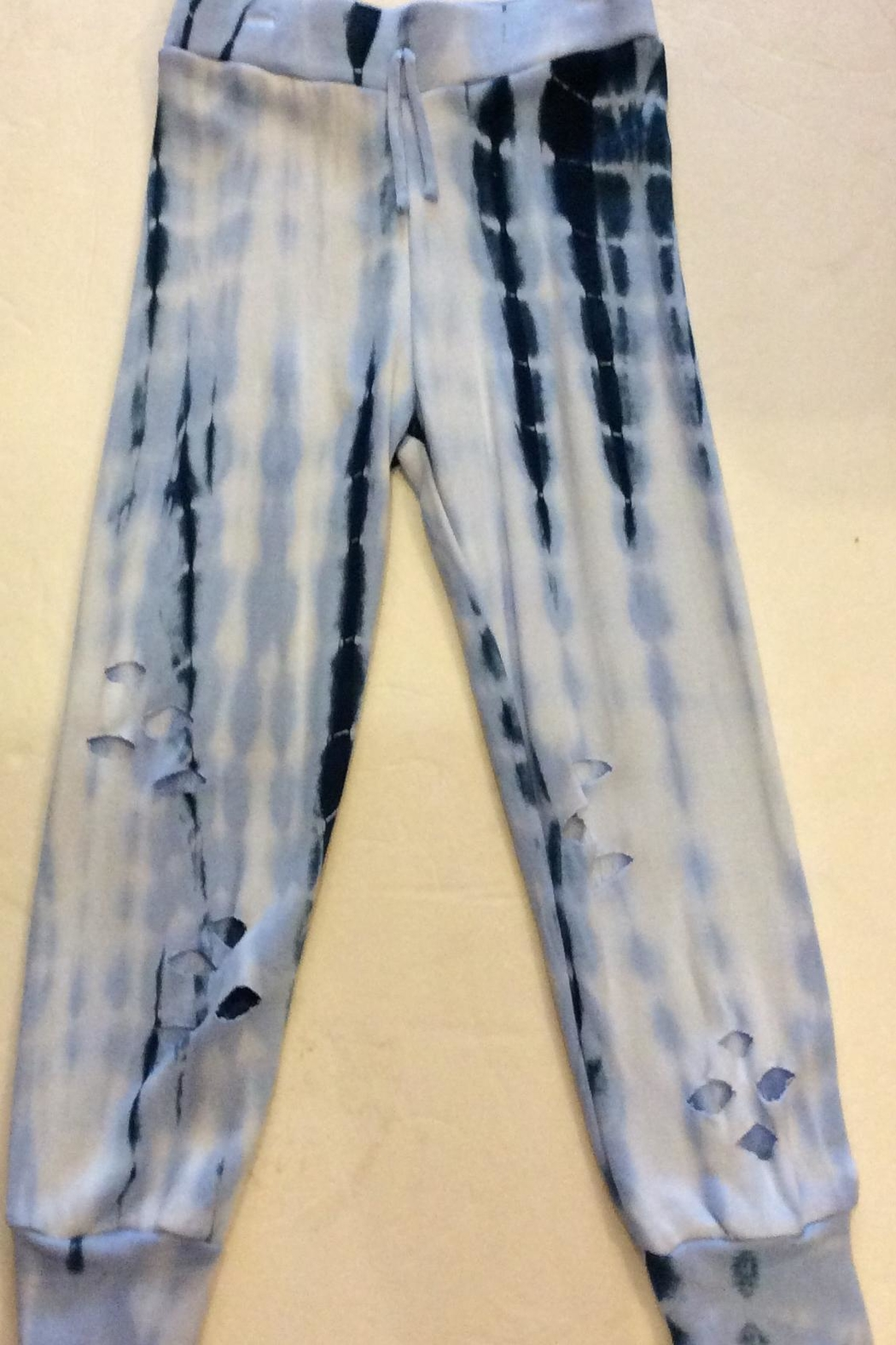 Flowers by Zoe Tie Dye Sweatpant - Front Cropped Image