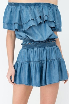 Shoptiques Product: Flowey Denim Shorts