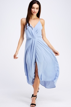 22901785a42 ... Lush Flowy Blue Dress - Product List Image
