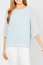 Entro Flowy Boxy-Fit Top - Product Mini Image