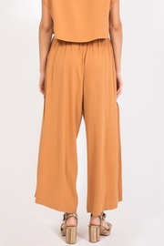 Very J Flowy Button Detail Pant - Side cropped