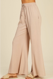 annabelle Flowy Flare Pants - Side cropped