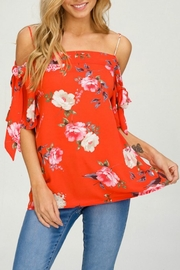 Hyped Unicorn Flowy Floral Off-The-Shoulder - Product Mini Image
