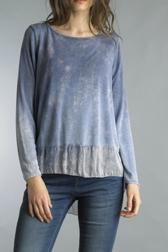 Shoptiques Product: Flowy Hand-Dyed Top