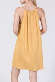 Double Zero Flowy Knit Dress - Front full body