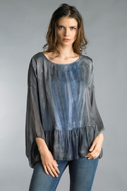 Tempo Paris Flowy Silk Top - Product Mini Image