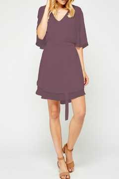 Shoptiques Product: Flowy Sleeve Dress