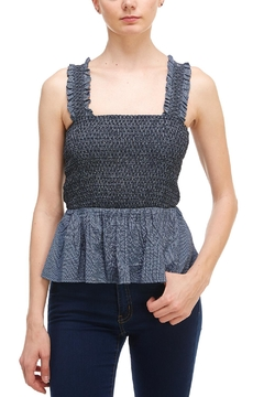 Shoptiques Product: Flowy Smocked Top