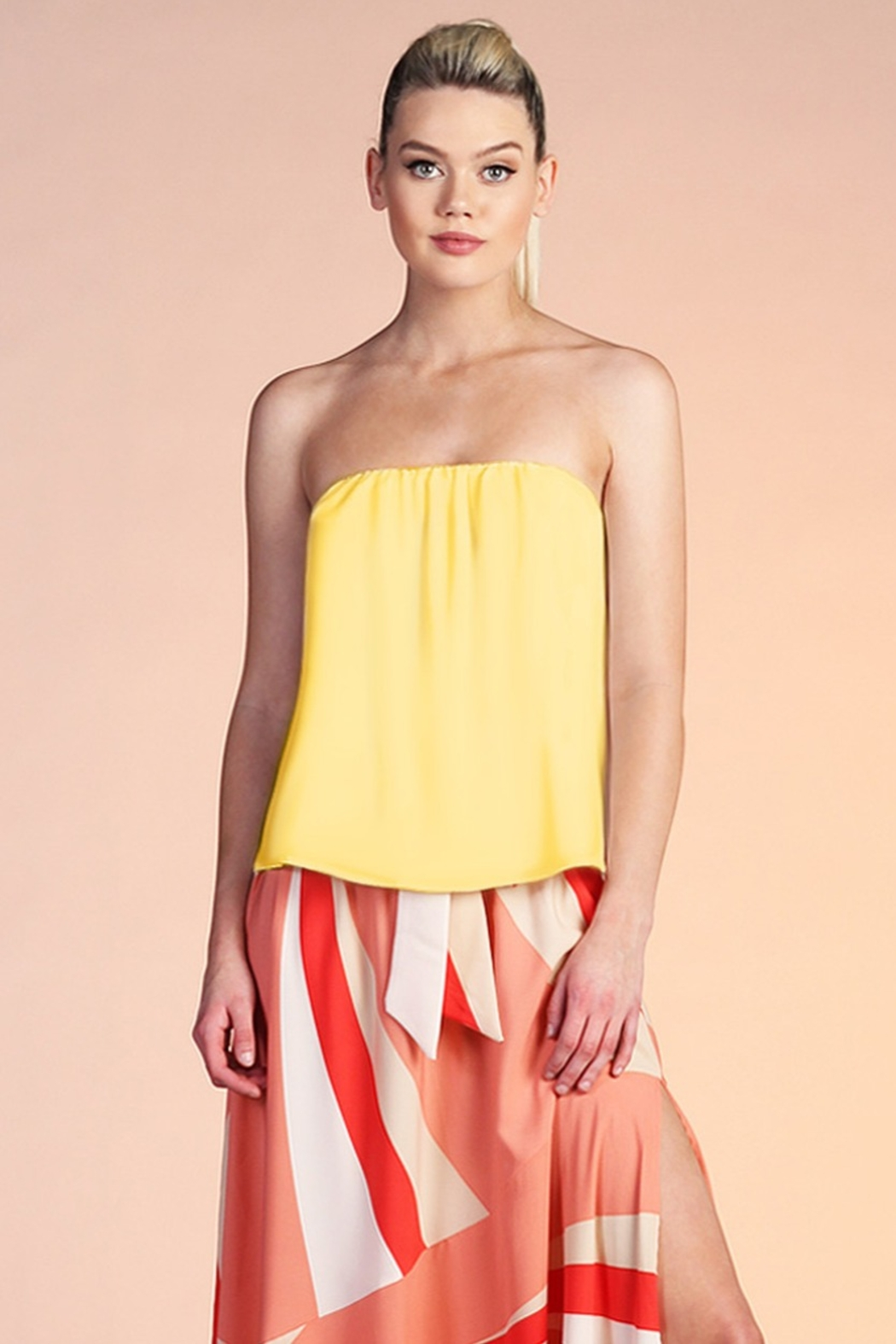 Tyche Flowy Tube Top - Main Image