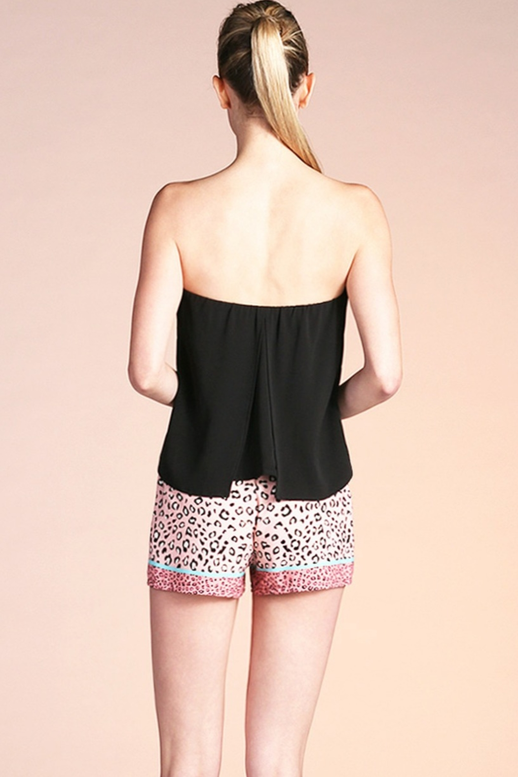 Tyche Flowy Tube Top - Side Cropped Image