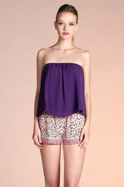 Tyche Flowy Tube Top - Front cropped