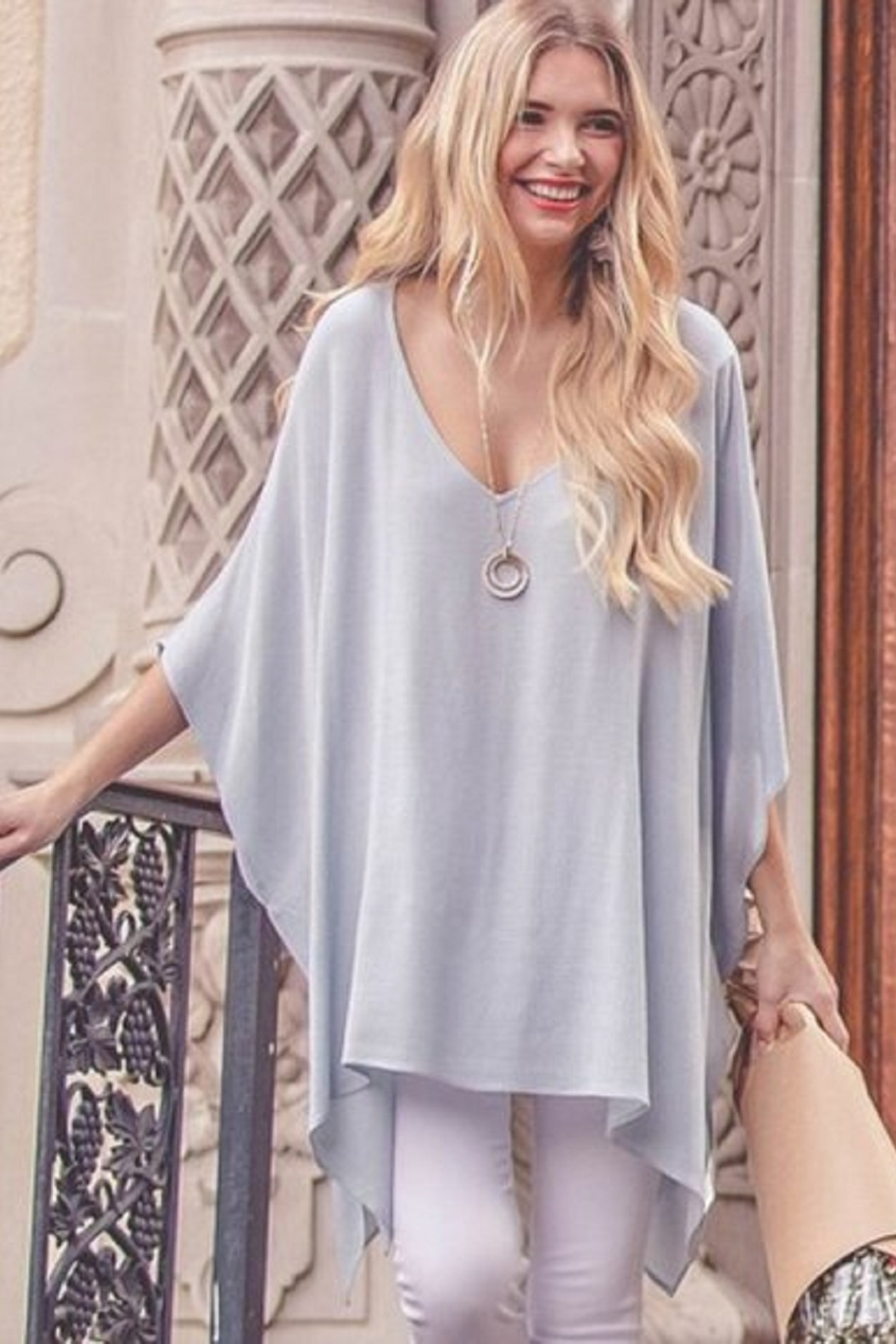 Kori Flowy Tunic Top - Side Cropped Image