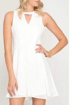 Shoptiques Product: Flowy White Dress