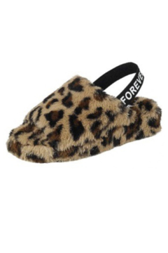 Forever Fluff Slingback Slippers - Product List Image